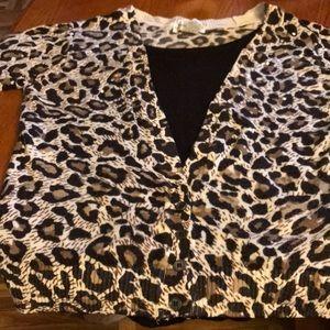 Women's sweater - Leopard print